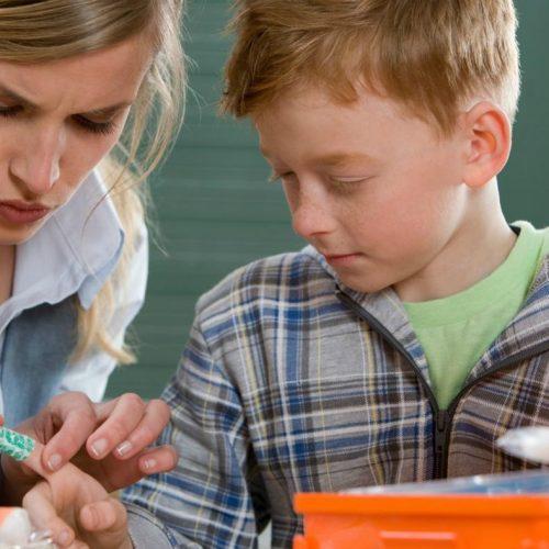 Çocuğunuz için ilk yardım öğrenin!
