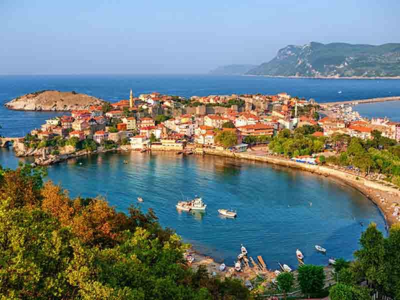 Batı Karadeniz'in tarihi kenti Amasra