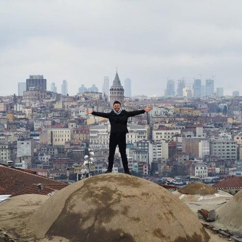 """İstanbul'da yaşamayın İstanbul'u yaşayın"""