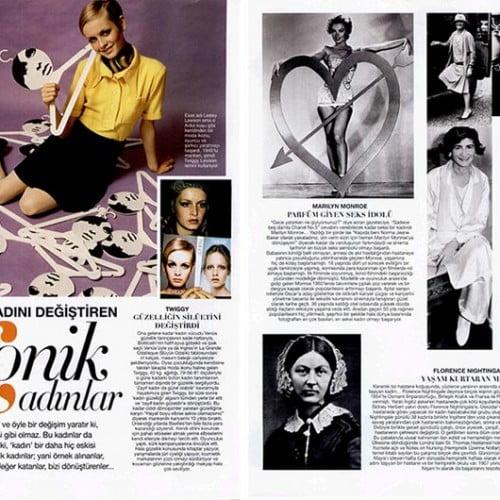 Kadını değiştiren ikonik kadınlar