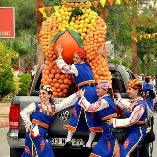 Festivaller kenti Mersin