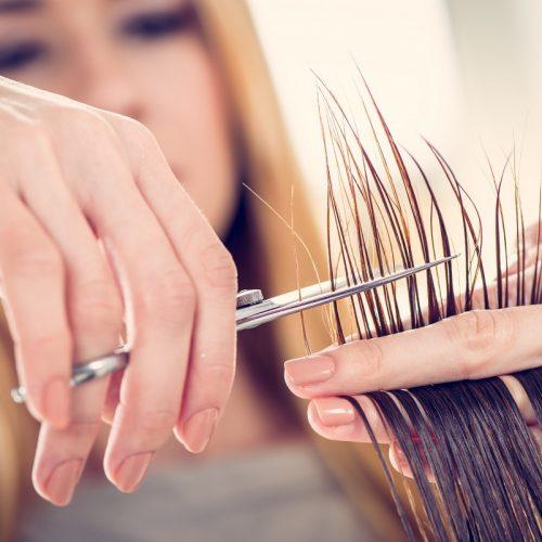 Seksi ve bakımlı saçlar için