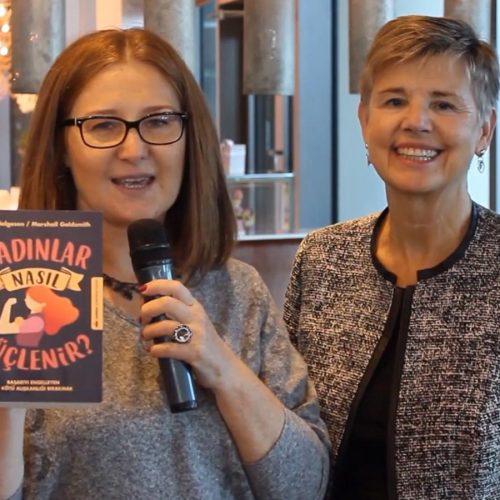 """Sally Helgesen """"Kadınlar Nasıl Güçlenir"""" kitabını anlattı"""