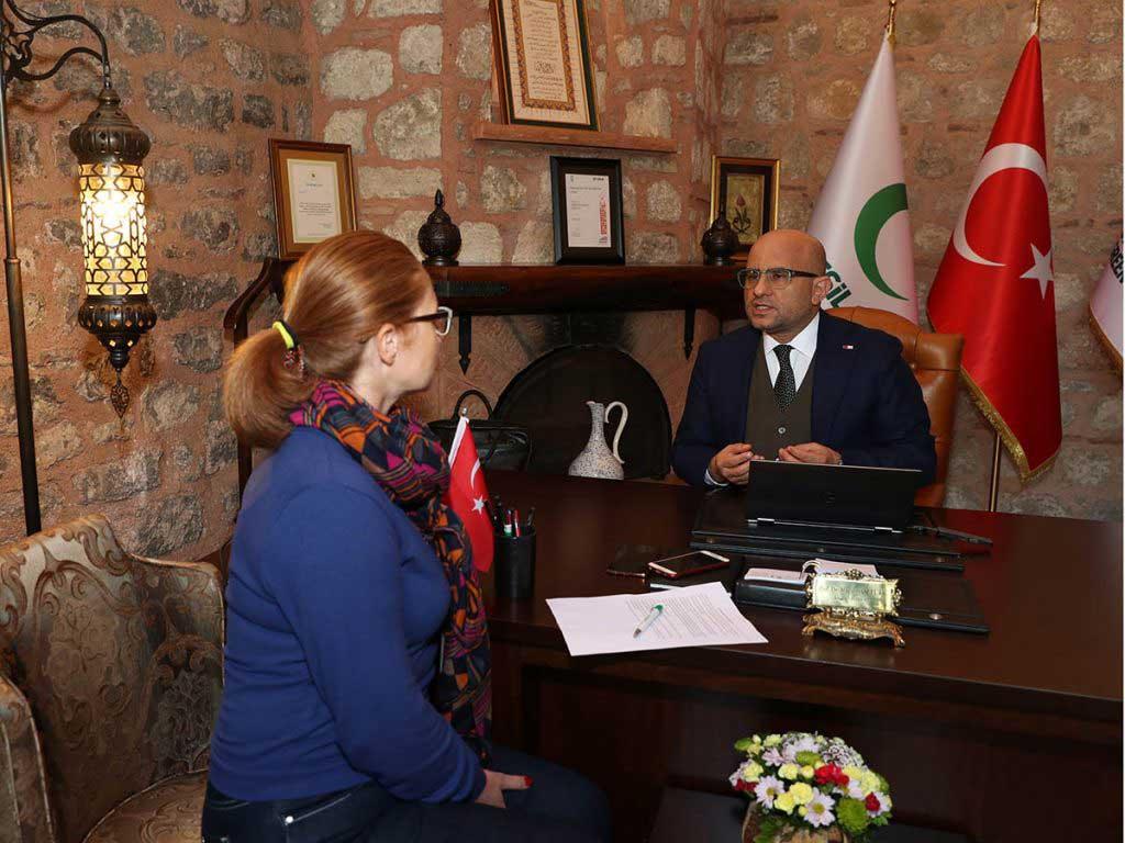 """Yeşilay Genel Başkanı Prof. Dr. Mücahit Öztürk """"Dijital oyunların e-spor olarak anılmasına itirazımız var"""""""