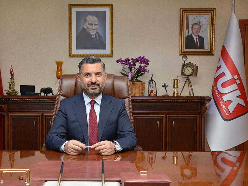 """RTÜK Başkanı Ebubekir Şahin, """"Yeni medya bağımlılığı artıyor"""""""