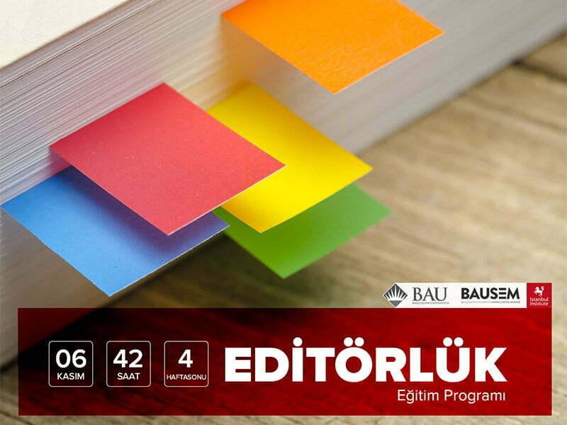 Online Editörlük Eğitimimiz Başlıyor!